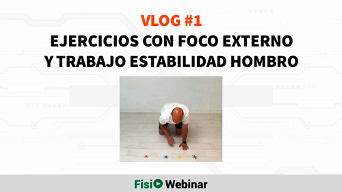 Video Blog Fisioterapia - Ejercicio foco externo hombro