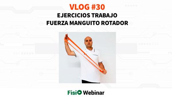 ejercicios trabajo de fuerza manguito rotador