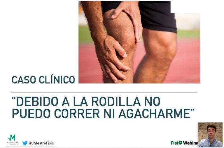 caso clinico dolor rodilla
