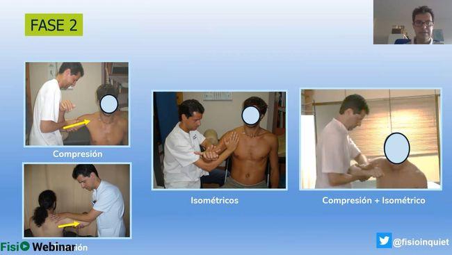fisioterapia en luxación glenohumeral