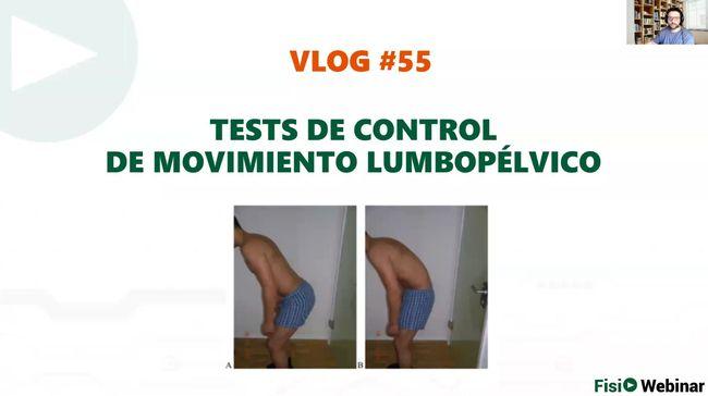 vlog55 - Tests de Control Motor Lumbopélvico
