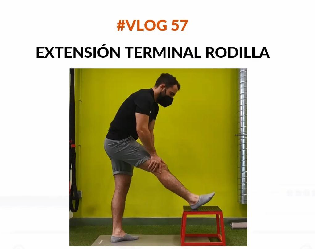 extension terminal de rodilla